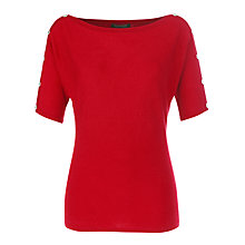 Buy Lauren by Ralph Lauren Button Shoulder Jumper Online at johnlewis.com