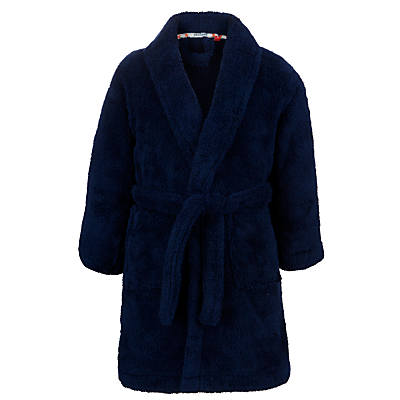 John Lewis Boy Powell Robe, Navy