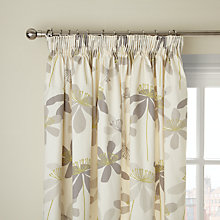 Buy John Lewis Passion Flower Pencil Pleat Curtains Online at johnlewis.com