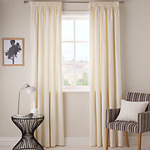 Buy John Lewis Panama Pencil Pleat Curtains Online at johnlewis.com