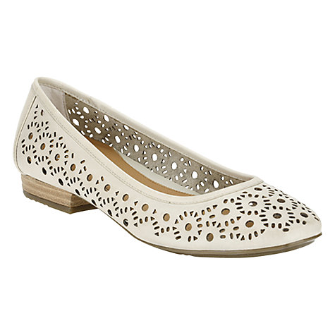 Buy Clarks Henderson Band Daisy Cut-Out Detail Leather Pumps Online at johnlewis.com