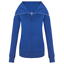 Buy John Lewis Yoga Jacket, Navy Online at johnlewis.com