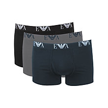 Buy Emporio Armani Trunk, Pack of 3 Online at johnlewis.com