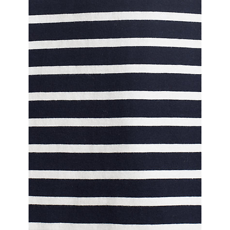 Buy John Lewis Organic Stripe Crew Neck Top Online at johnlewis.com