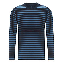 Buy John Lewis Organic Tonal Stripe Top Online at johnlewis.com