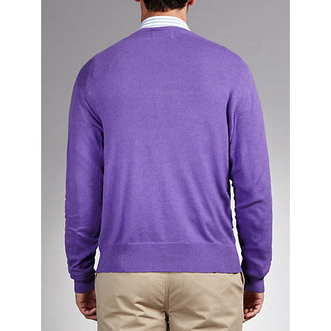 Buy John Lewis Cotton Rich V-Neck Jumper Online at johnlewis.com