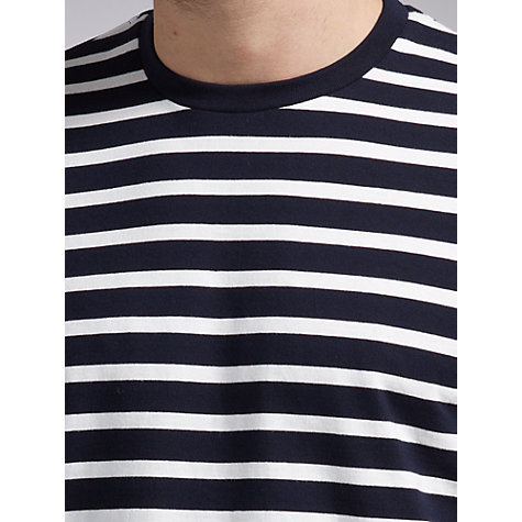 Buy John Lewis Organic Breton Stripe T-Shirt Online at johnlewis.com