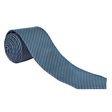 Buy CK Calvin Klein Stripe Silk Tie Online at johnlewis.com
