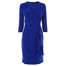 Buy Coast Olivia 3/4 Sleeve Jersey Dress, Blue Online at johnlewis.com