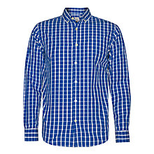 Buy John Lewis Long Sleeve Peached Check Shirt Online at johnlewis.com
