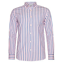 Buy John Lewis Long Sleeve Preppy Satin Stripe Shirt Online at johnlewis.com