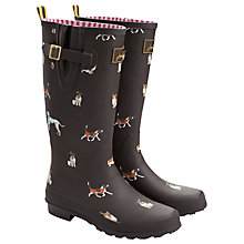 Buy Joules Dog Print Wellington Boots Online at johnlewis.com