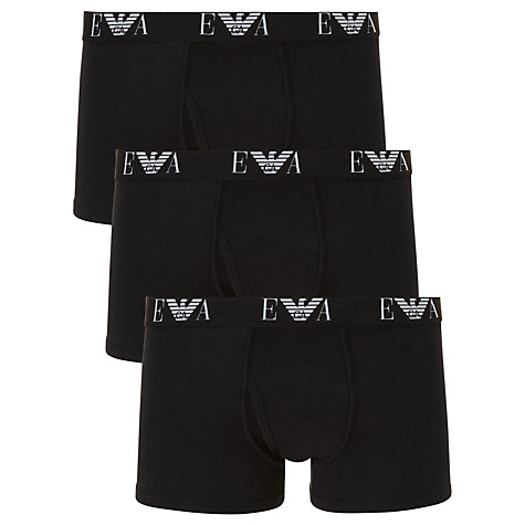 Buy Emporio Armani Trunks, Pack of 3 Online at johnlewis.com