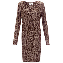Buy allegra by Allegra Hicks Clematis Dress, Snake Neutral Online at johnlewis.com