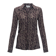 Buy allegra by Allegra Hicks Holly Shirt, Snake Neutral Online at johnlewis.com
