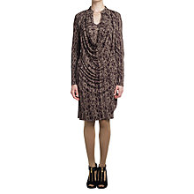 Buy allegra by Allegra Hicks Martini Dress, Snake Neutral Online at johnlewis.com
