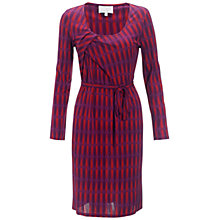 Buy allegra by Allegra Hicks Camellia Dress, Butterfly Magenta Online at johnlewis.com