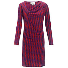 Buy allegra by Allegra Hicks Clematis Dress, Butterfly Magenta Online at johnlewis.com