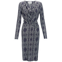 Buy allegra by Allegra Hicks Hazel Dress, Malachite Grey Online at johnlewis.com