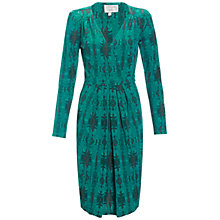 Buy allegra by Allegra Hicks Alba Dress, Malachite Green Online at johnlewis.com