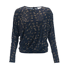 Buy allegra by Allegra Hicks Azara Top, Jungle Khaki Online at johnlewis.com