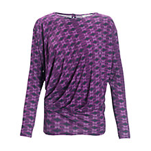 Buy allegra by Allegra Hicks Azara Top, Butler Magenta Online at johnlewis.com