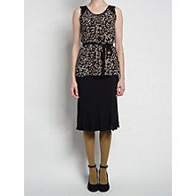 Buy allegra by Allegra Hicks Ivy Vest, Mimosa Black Online at johnlewis.com