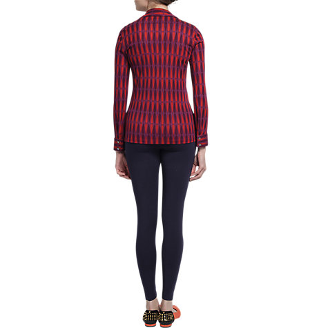 Buy allegra by Allegra Hicks Holly Shirt, Butterfly Magenta Online at johnlewis.com