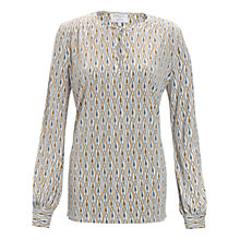 Buy allegra by Allegra Hicks Phoenix Tunic, Jewels Ivory Online at johnlewis.com