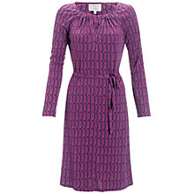 Buy allegra by Allegra Hicks Viola Dress, Flame Magenta Online at johnlewis.com