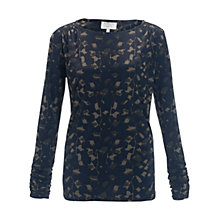 Buy allegra by Allegra Hicks Heather Top, Jungle Khaki Online at johnlewis.com