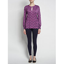 Buy allegra by Allegra Hicks Phoenix Tunic, Butler Magenta Online at johnlewis.com