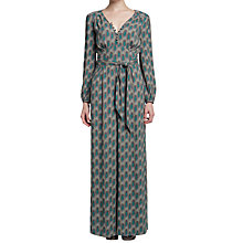 Buy allegra by Allegra Hicks Japonica Jumpsuit, Chains Green Online at johnlewis.com