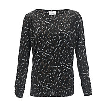 Buy allegra by Allegra Hicks Heather Top, Mimosa Black Online at johnlewis.com