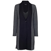 Buy James Lakeland Bicolour Coat, Grey/Black Online at johnlewis.com