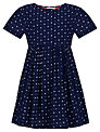 Kin by John Lewis Girls' Printed Dress, Navy