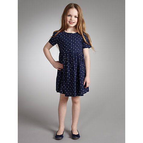 Buy John Lewis Girl Ballet Pumps, Navy Online at johnlewis.com