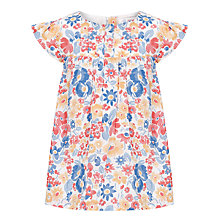 Buy John Lewis Girl Floral Print Woven Top Online at johnlewis.com