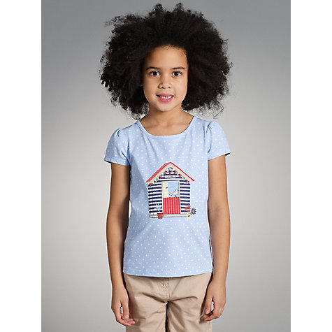 Buy John Lewis Girl Beach House T-Shirt Online at johnlewis.com
