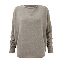 Buy Sandwich Oversized Jumper, Dark Mist Online at johnlewis.com