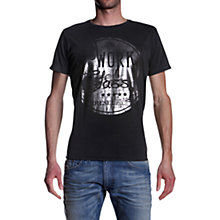 Buy Diesel T-Thar-R T-Shirt, Charcoal Online at johnlewis.com
