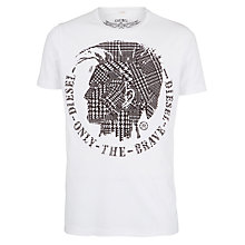 Buy Diesel Karkm Mohawk T-Shirt Online at johnlewis.com