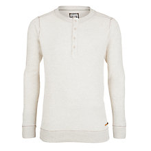 Buy Diesel Slack Button Sweatshirt, Ecru Online at johnlewis.com