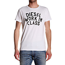 Buy Diesel T-SNDY Logo T-Shirt Online at johnlewis.com