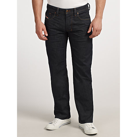 Buy Diesel Zatiny 0800Z Bootcut Jeans, Blue Online at johnlewis.com