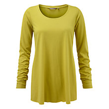 Buy Sandwich Jersey Swing Top, Spring Green Online at johnlewis.com