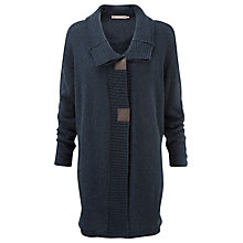 Buy Sandwich Long Knitted Cardigan, Midnight Blue Online at johnlewis.com