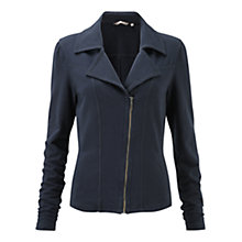 Buy Sandwich Fleece Long Sleeve Jacket, Midnight Blue Online at johnlewis.com