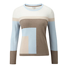 Buy CC Square Intarsia Jumper, Multi Online at johnlewis.com