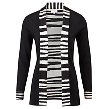 Buy CC Zebra Print Cardigan, Natural/Black Online at johnlewis.com